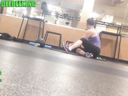 Fat ass at the GYM