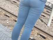 Teen waiting for train part 2