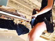 Epic best teen bend over in tiny shorts shopping