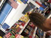 Two Teens in booty shorts in Walmart 1080p HD