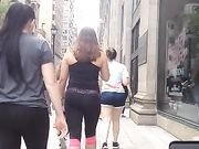 Candid Teen Ass in the City