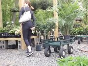 Sexy MILF at Garden Center