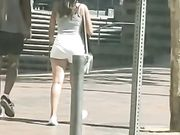 WHITE SHORT SHORTS YAMCAM