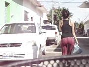CULO RED TIGHT PANTS (slow-motion)[2]