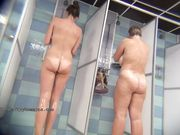 Russian public showers real spycam vid