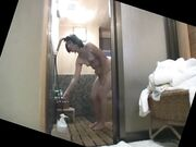 Japanese Granny Takes A Shower